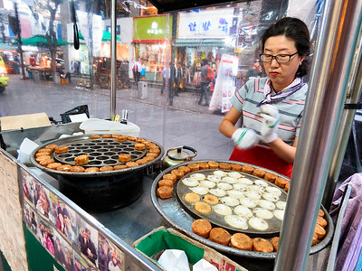 Street Vendor.  These are little jelly filled cakes.