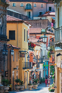 Maratea's colorful old town