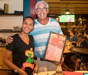 Our Tex-Mex restaurant waitress.