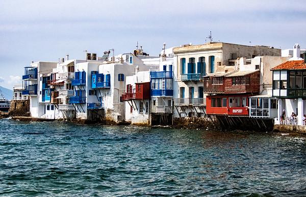 Islands of Mykonos and Delos Greece