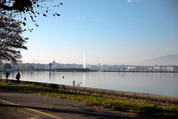 Geneva from the rive gauche
