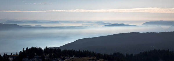 Ridges and Haze