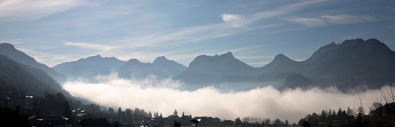 Bauges and Fog