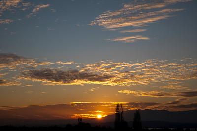 Sunset from Corsier