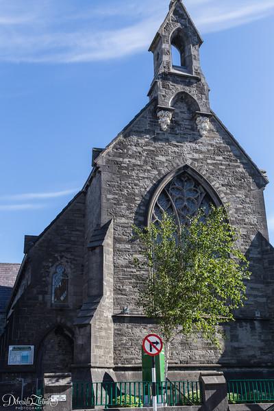 It looks like a church, but it is actually Sligo's Public Library!