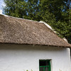 Thatched straw roofs