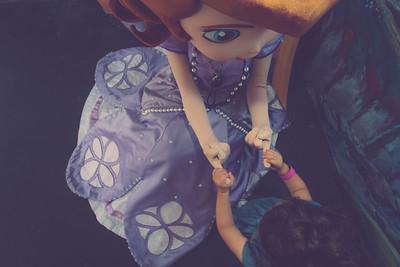 Elle and Myles visit Disney World, Orlando Florida