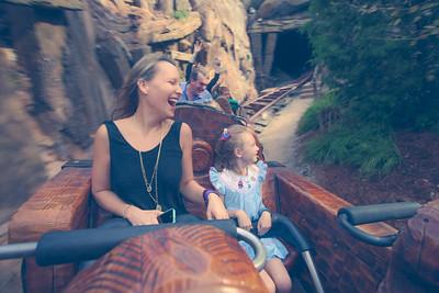 Saunders Family at Walt Disney World