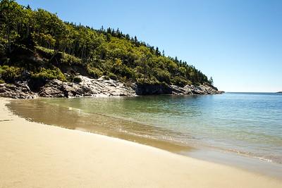 Sand Beach Acadia NP
