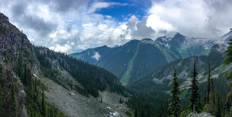 Summit Trail to Eva Lake