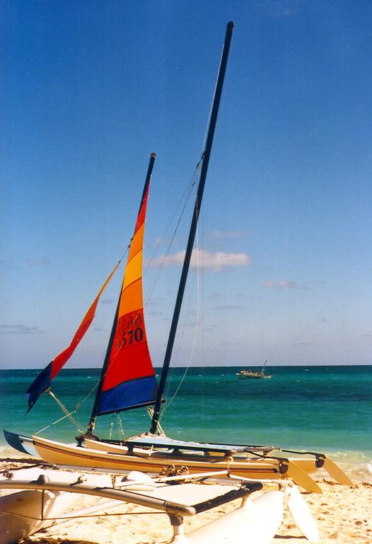 Bahama Sailboat