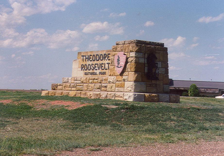 North Dakota Badlands area.