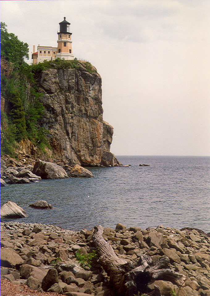 Split Rock Lighthouse, Minnesota on Lake Superior.