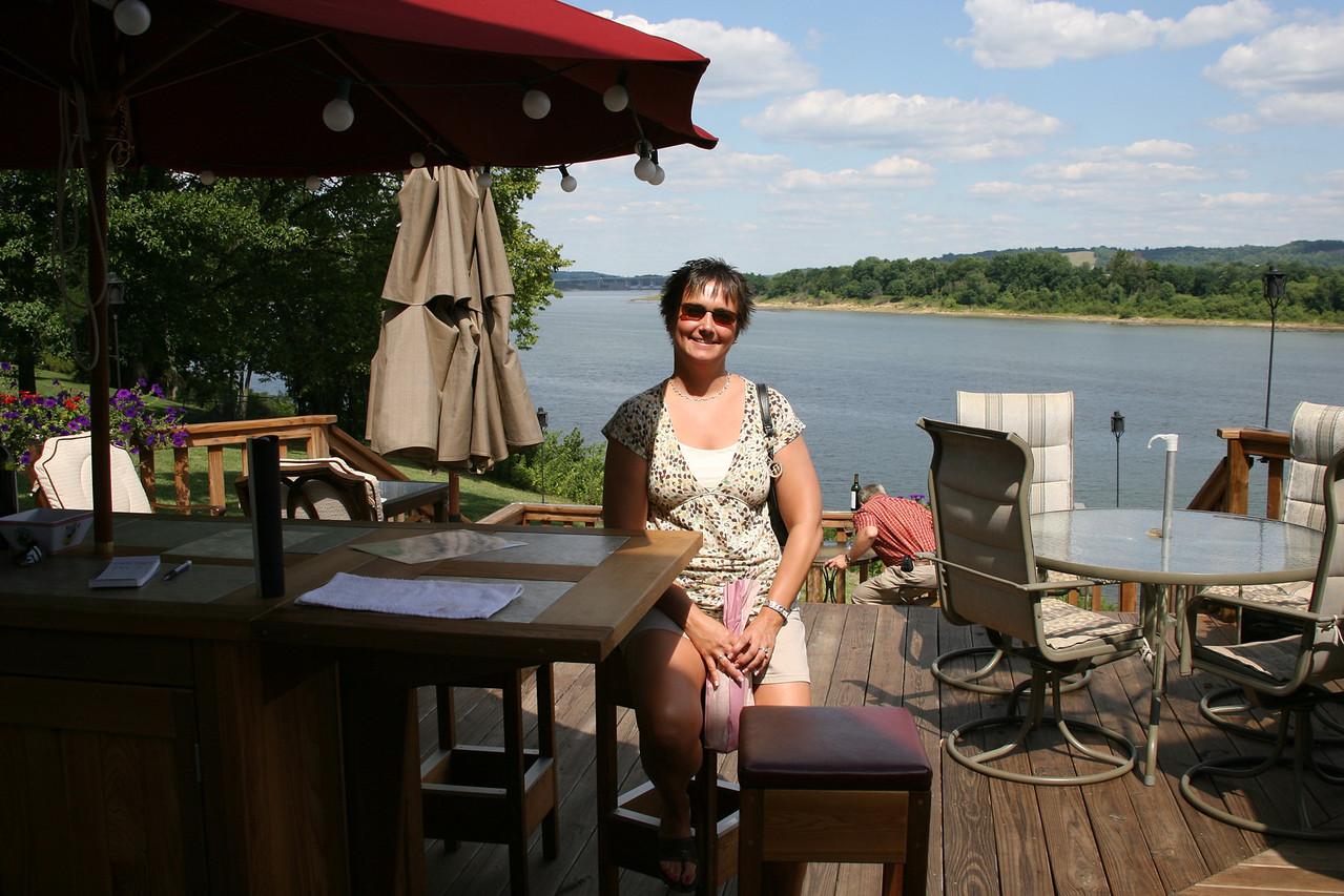 Ridge Winery, Vevay, Indiana, July 2007.