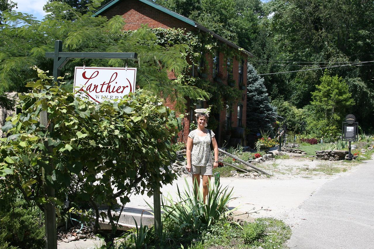 Lanthier Winery, Madison, Indiana, July 2007.