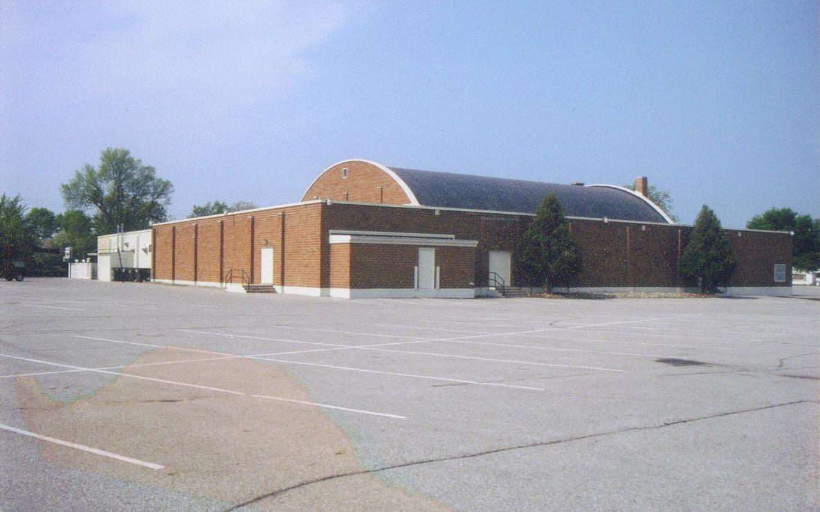 Rear view of the Surf Ballroom.