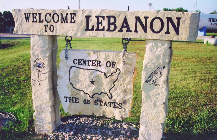 Lebanon, Kansas.