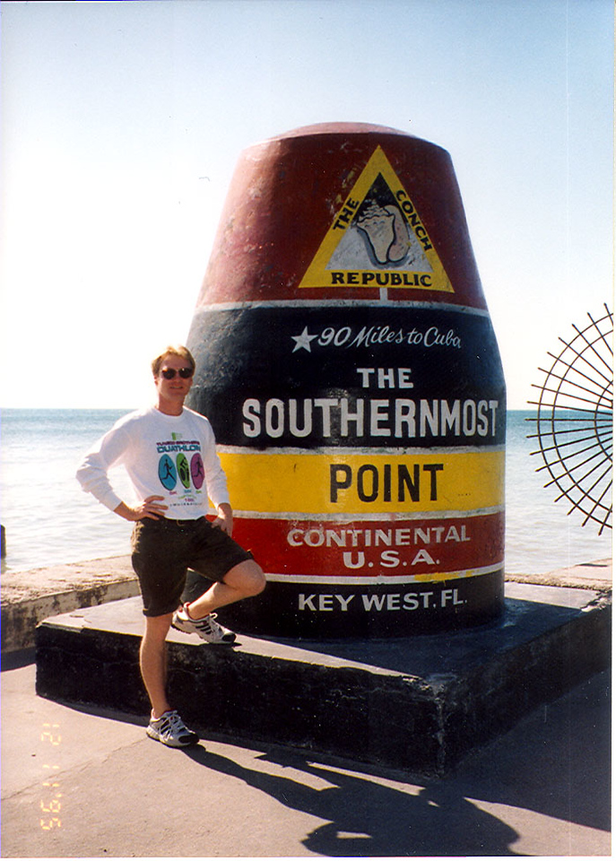 SOUTHERN MOST POINT OF THE CONTINENTAL U.S.A. AT KEY WEST, FLORIDA.