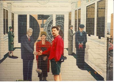 Stubenville, Ohio, 1994 Downtown Wall Murals