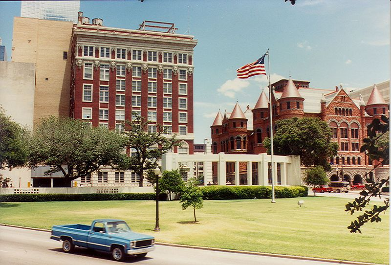 The Grassy Knoll, Dallas TX, 1990.
