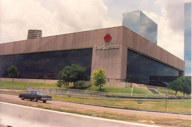 The Summit in Houston. Home of the Rockets.