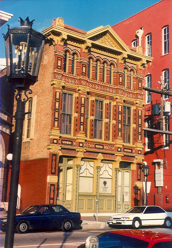 Old Bank Building in Galveston, TX.