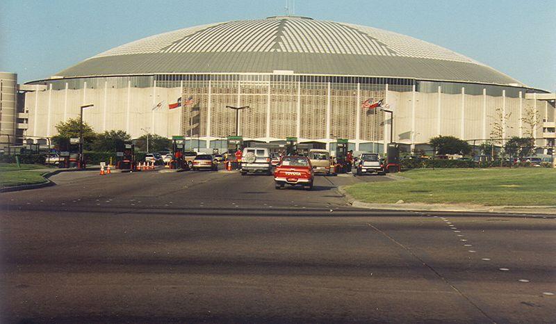 Houston Astrodome, 1990.
