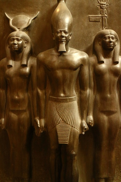 Pharaoh and Godesses