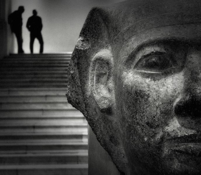 Colossal Head Of Pharaoh
