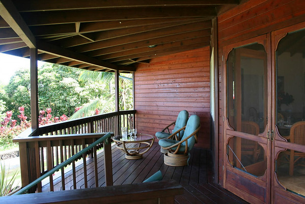 Kolea Cottage Lanai (Porch)