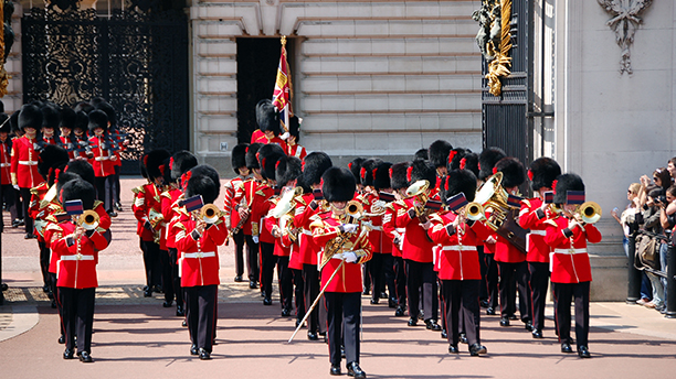 Impressions of London - Changing the Guards