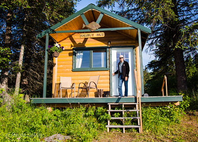 We  enjoyed three nights in this cozy cabin with a great view of the meadows in front of the lodge.