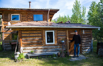 Our rustic cabin with shared bath was a lot better than what the orginal inhabitants had.