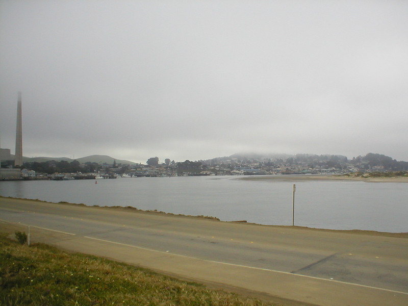 City of Morro Bay --  Black Hill is on the right