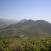 Black Hill Pano 13 of 15 -- Hollister Peak (left) and Cerro Cabrillo. There are eagles up there!