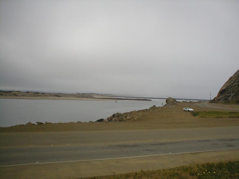 Entrance to Morro Bay