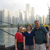 Maria, Melissa, and Frank at Navy Pier.