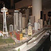 Lego Seattle, part of train exhibit.
