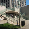 Cool stairs on Loyola Student Union building.