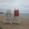 No lifeguard on duty.