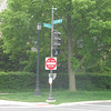 Corner of Sheridan and Church Street, entrance to Dog Beach and nearby Clark Street Beach.