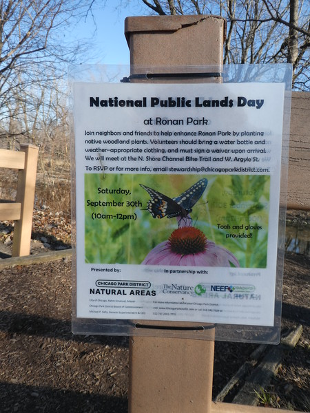 National Public Lands Day events at Ronan Park.