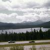 Dillon Reservoir from I-70