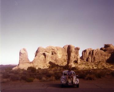 Colorado-Utah Drive 1976