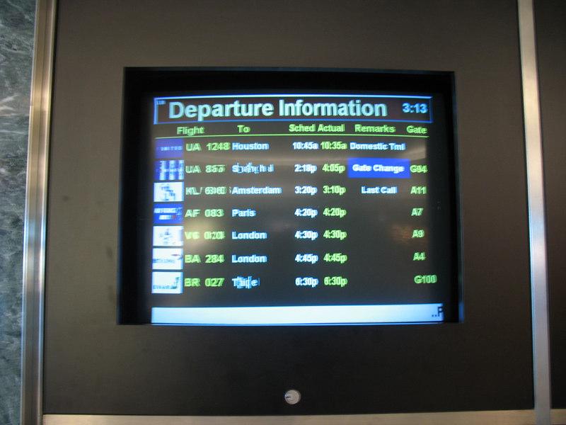 Waiting for Flight 284