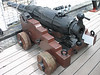 Breech-loading cannon.
