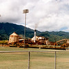 Waialua Sugar Mill. The mill ceased processing sugar cane in 1996.