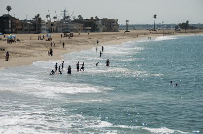 Visit to Seal Beach for Bob & Leslie cellebration