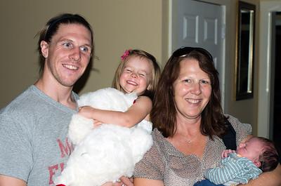 Columbus visit to see new Grandson Levi