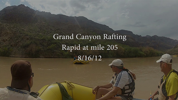 Grand Canyon Rafting 3032 081612